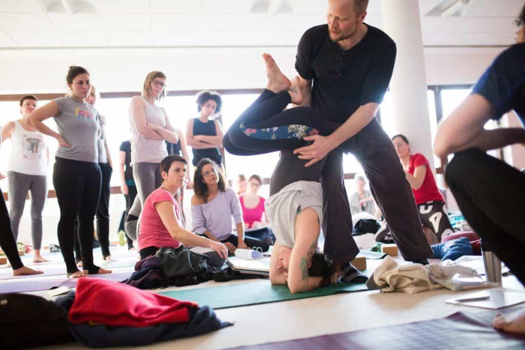 Inner Flow Yoga Ausbildung, konzipiert von Uli Schuchart